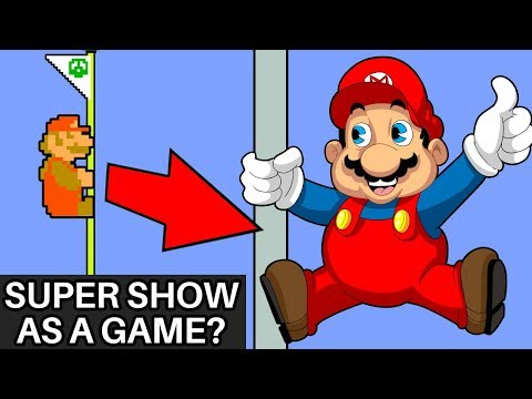 What if the Super Mario Bros Super Show was a Fully Animated Game?