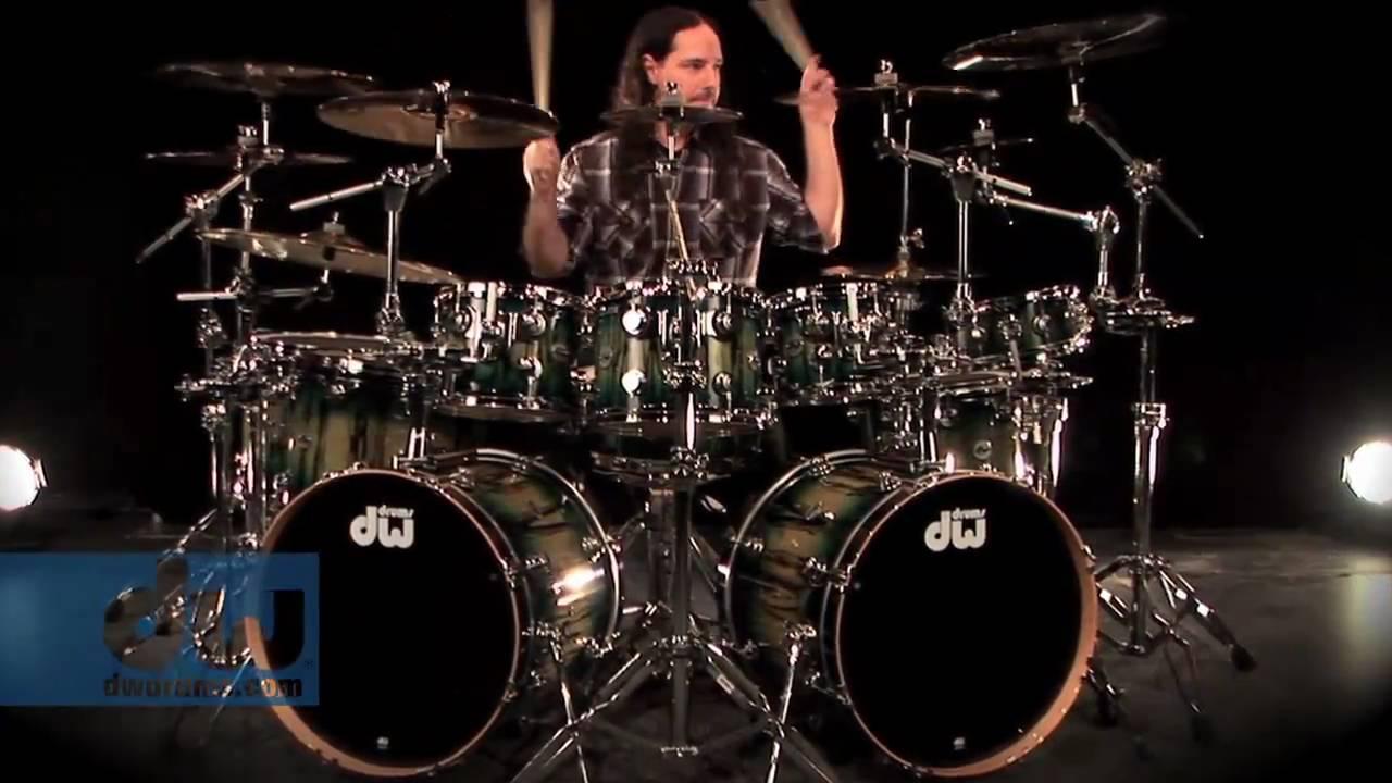 Derek Roddy Plays DW Collectors Series Drums
