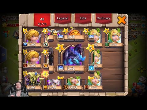 Opening Arctica With Revitalize Rolling 23000 Gems Castle Clash