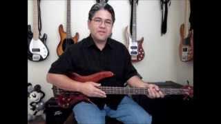 The Human League - (Keep Feeling) Fascination Bass Lesson And Tabulature