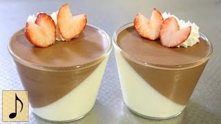 How to make Double Chocolate Mousse【fast-forward cooking】