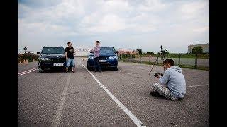 Vlog Царев vs AcademeG  BMW X5M vs RangeRover SVR