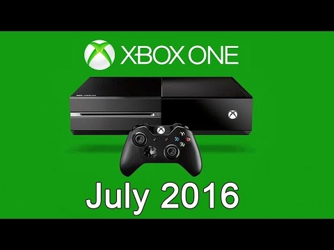 XBOX ONE Free Games - July 2016