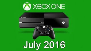 XBOX ONE Free Games - July 2016(, 2016-06-28T15:22:06.000Z)