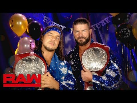 "Bobby Roode & Chad Gable look forward to a ""Glorious"" New Year: Raw, Dec. 31, 2018"