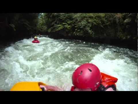 White Water Sledging - Kaituna River, New Zealand