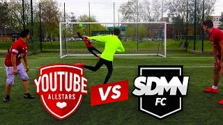 YOUTUBE ALLSTARS VS SDMN FC FOOTBALL CHALLENGES!!