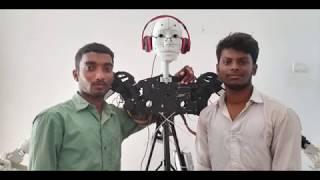 3D printed Robot (Printed using Tevo Printers)