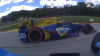 2017 IndyCar Fights, Arguments and Tempers