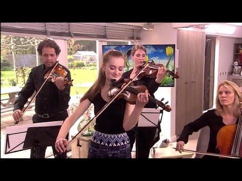Noa Wildschut - Vioolconcert van Bach in E-groot  - KOFFIETIJD