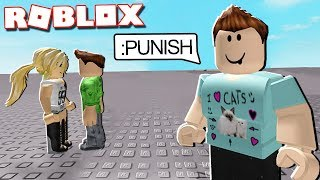 PUNISHING ONLINE DATERS with ADMIN COMMANDS IN ROBLOX!