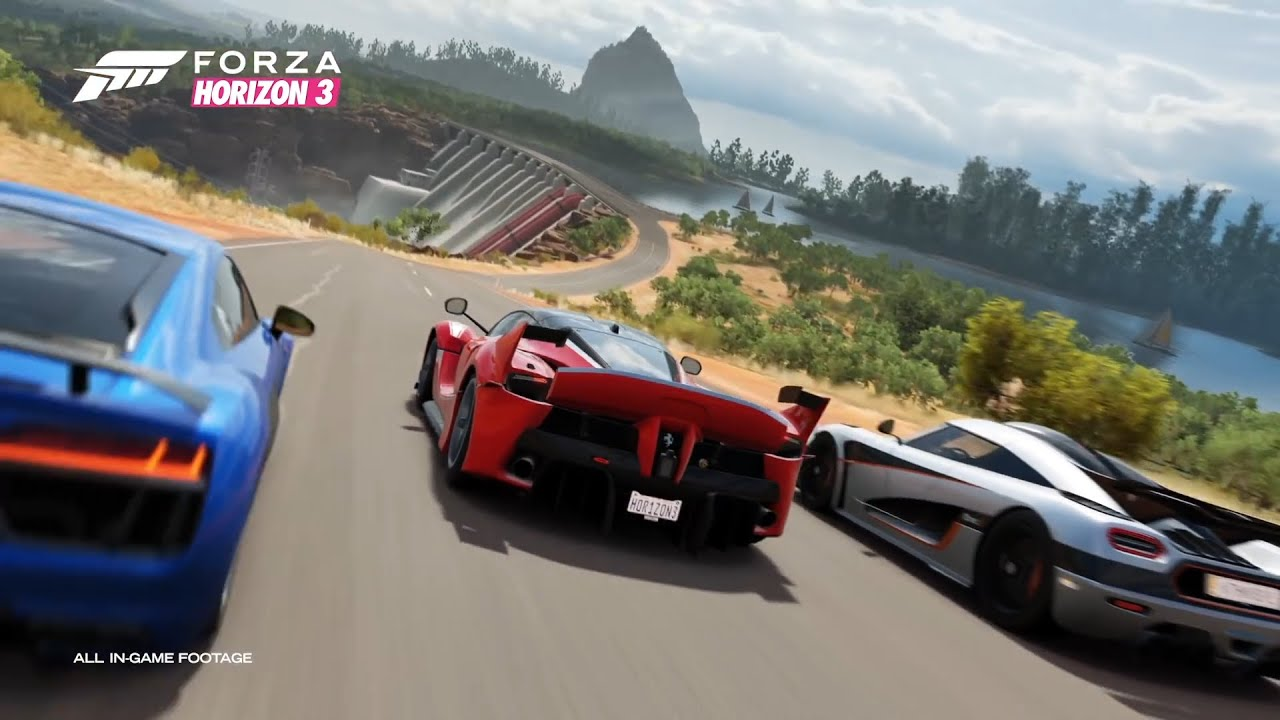 forza horizon 3 gameplay september 2016 release date. Black Bedroom Furniture Sets. Home Design Ideas