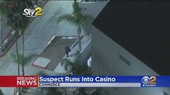 Suspect At Large After Wild Pursuit Ends At Commerce Casino