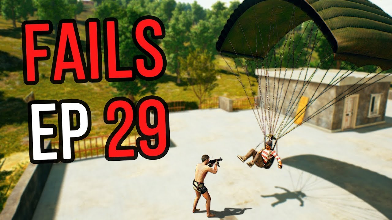 PUBG: Fails & Unlucky Moments Ep. 29