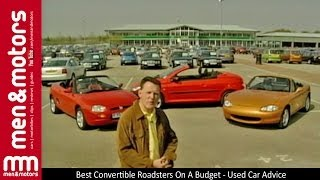 Best Convertible Roadsters On A Budget - Used Car Advice