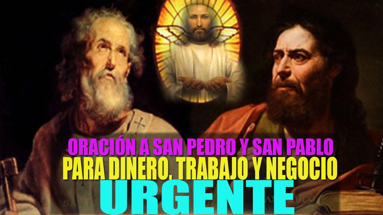 Oración Poderosa A San Pedro Y San Pablo Para Urgente