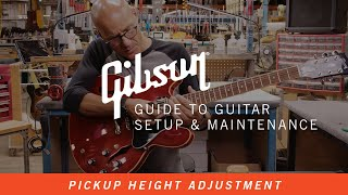 How To Adjust Tнe Height of Your Guitar Pickups