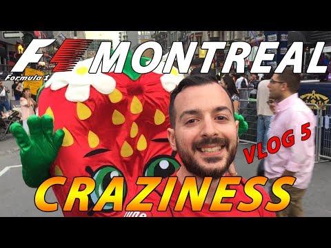 Formula 1 2017 Canadian GP Downtown Montreal Craziness !