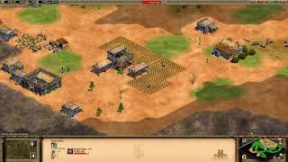 Age of Empires 2 Unranked Game - Made Man (Brit) v ObjectionPW (Japa)