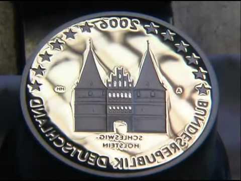 Münzherstellung Am Beispiel 2 Euro Münze Youtube