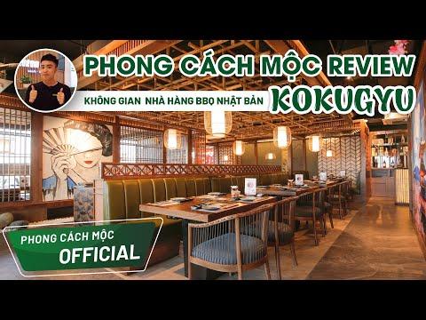 Phong Cách Mộc Review - Nhà hàng BBQ Nhật Bản Kokugyu - Akuruhi Tower