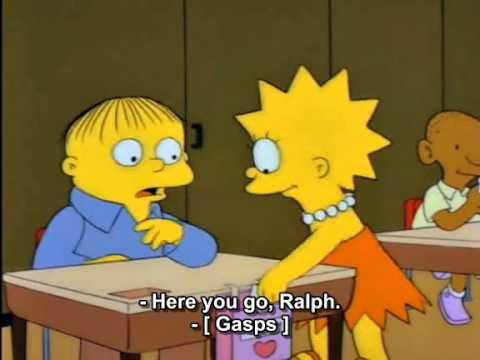 Ralph wiggum i choose you