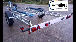 Gambar cover EXTREME 1500 FIXED KEEL BUNK BOAT TRAILER - CORNISH CRABBER SHRIMPER PLYMOUTH PILOT