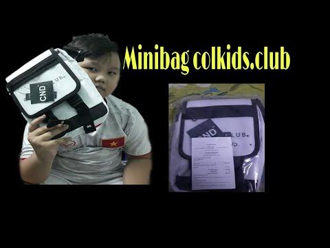 [REVIEW LOCALBRAND] UNBOX VÀ REVIEW Minibag Colkids Season 1 White Bản mới nhất| Thái Bo Vlogs