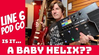 IS IT... A BABY HELIX? Line 6 POD GO