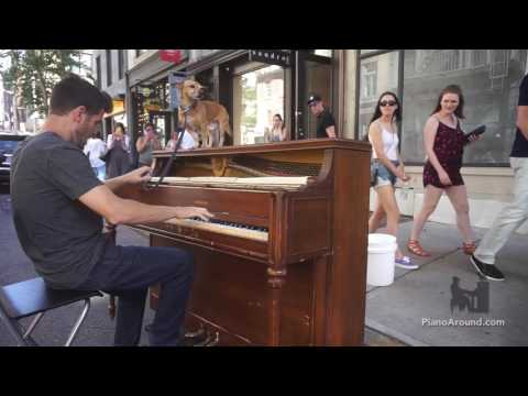 Tango Ragtime - Take #2 on a Street Piano in NYC