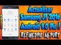 Actualizar SAMSUNG J7 2016 a Android 9 Pie Oficial   Rom RefinedPie A6 Port v1.0