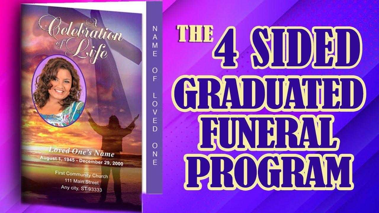 4 sided graduated fold program templates