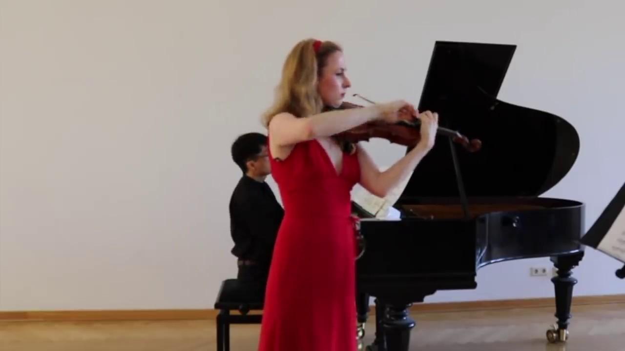 Download S. Rachmaninov - Vocalise for Violin and Piano / Leonore Haupt - Violin, Kensei Yamaguchi - Piano