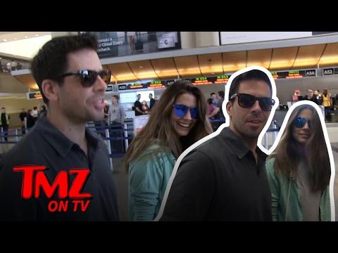 Eli Roth's Wife Tells Us What He's Really Like  TMZ TV