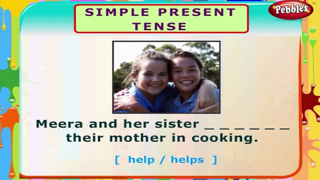 Simple Present Tense English Grammar Exercises For Kids English