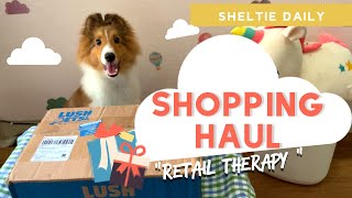 Sheltie Puppy Shopping Haul   Dog Retail Therapy
