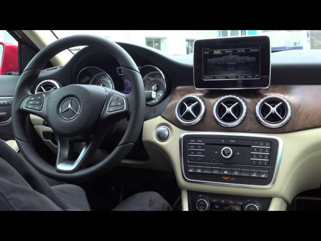 2016 Mercedes-Benz GLA SUV Technology