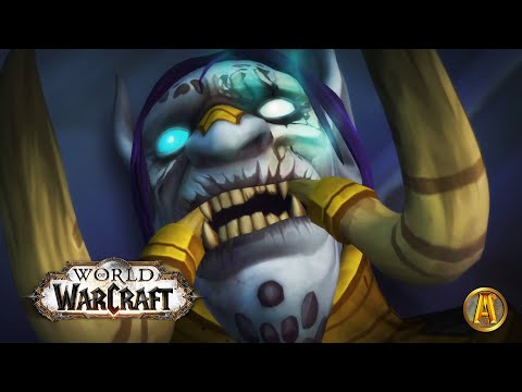 Rastakhan's Death Cinematic [Battle of Dazar'alor Horde] - 8.1 WoW BFA:Tides of Vengeance