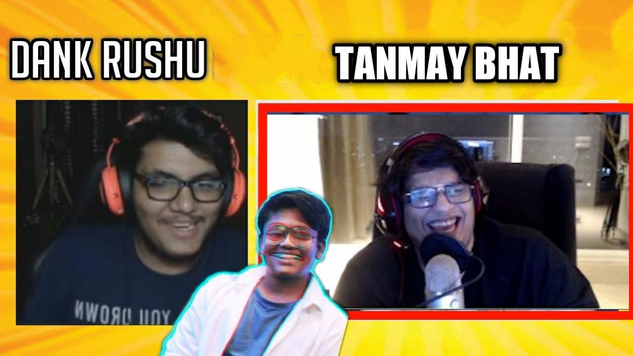 TANMAY BHAT ANGRY ON GAREEB Feat.DANK RISHU