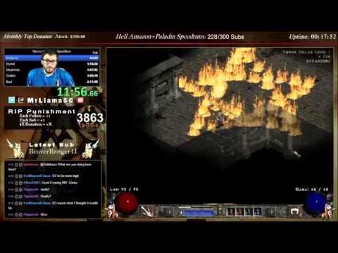 Diablo 2 - Necromancer World Record Any% Speedrun!!! - 2:07:29