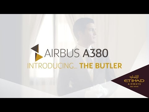 The Butler - Airbus A380 - Etihad Airways