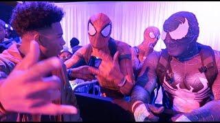 I became Spider-Man MILES MORALES... (Vlogmas Day 2)