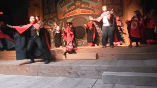 Project Michelangelo: Jojo Sayson Tlingit Tribal dance, Alaska 2014