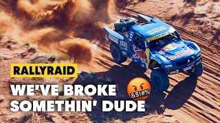When A Broken Trophy Truck Ends The Desert Dream | Toby Price Finke '19
