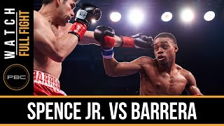 Spence Jr. vs Barrera FULL FIGHT: Nov. 28, 2015 - PBC on NBC