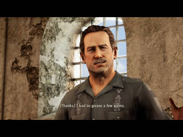 Uncharted Collection: Among Thieves - Chap 3: Victor Sullivan Bails Nate Out of Jail, Chloe Cutscene