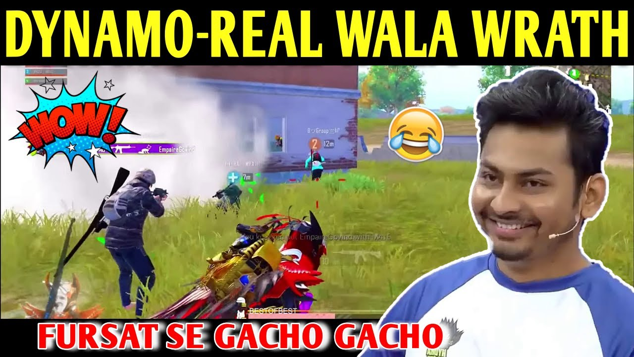 DYNAMO - REAL WALA HYDRA WRATH   BATTLEGROUNDS MOBILE INDIA   BEST OF BEST