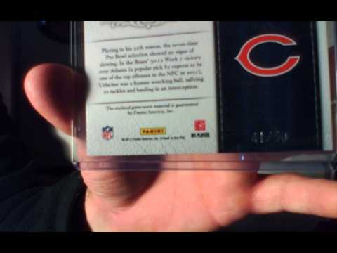 Brian Urlacher, Ron Harper, Richard Dent, Julius Peppers Patch, Jersey and Auto mail day!
