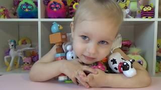 Прикольные игрушки со звуком Барби и Злые Птички Fun toy with sound Barbie and Angry birds
