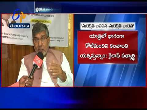 Nobel Laureate Kailash Satyarthi calls to join Bharat Yatra | Interview with Kailash Satyarthi